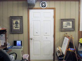 25 - Garage door west wall